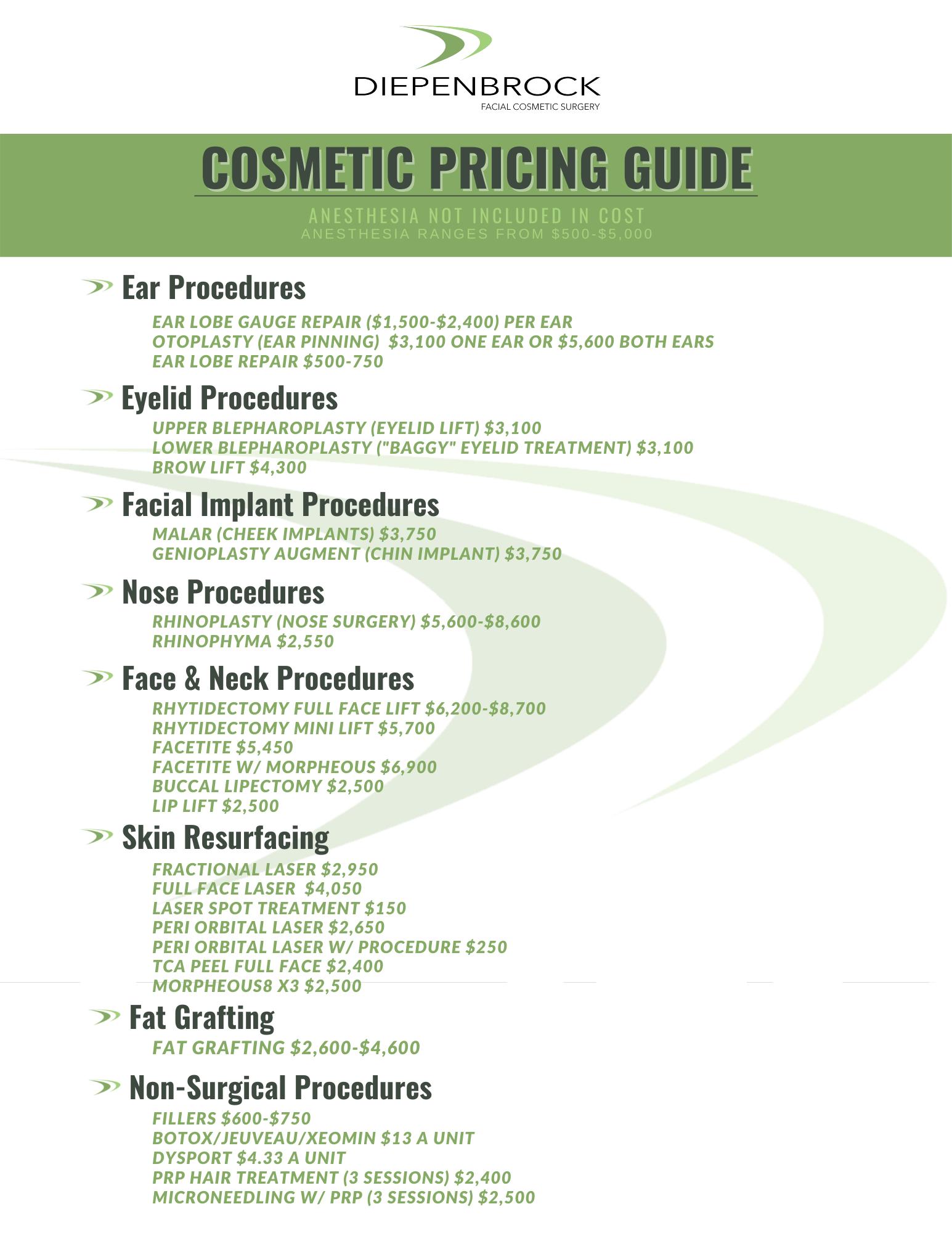 DFCS Price Sheet as of 07.2021